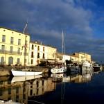 Bateau sur le port de Marseillan 34
