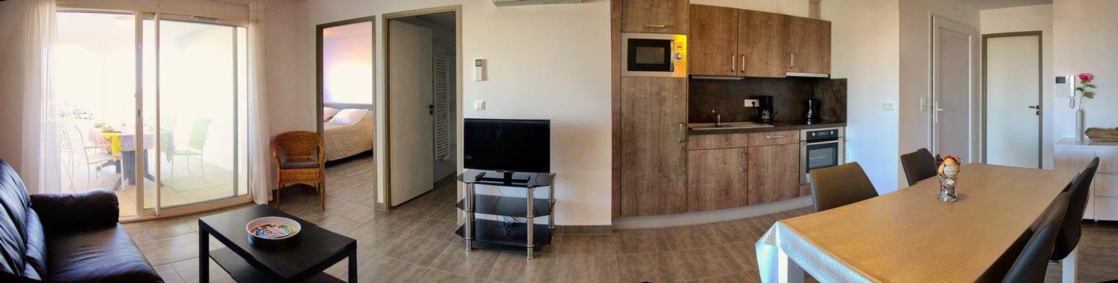 appartement sur l'étang de thau location de vacance