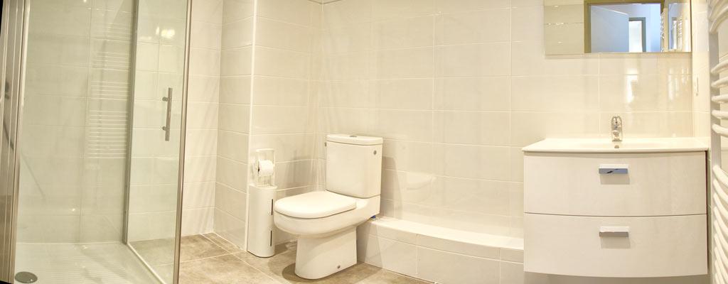 appartement salle de douche