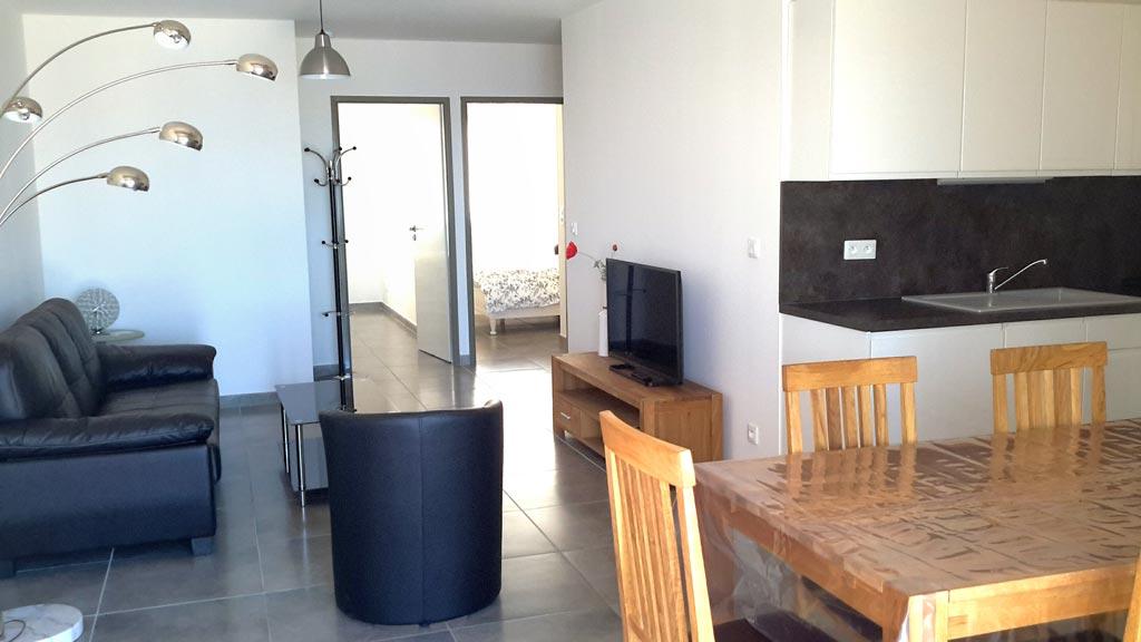 location appartement luxe marseillan
